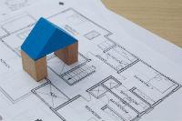 住宅の設計図の画像